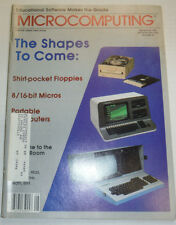 Kilobaud Microcomputing Magazine Shirt Pocket Floppies September 1982 120414R2