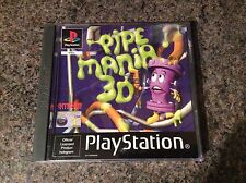 Pipe Mania 3D Ps1 Game! Look At My Other Games!