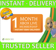 Xbox Live 1 Month Trial Gold Membership Microsoft Xbox One/Xbox 360 - 2x 14 Day!