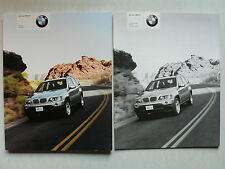 Prospekt - Der neue BMW X5  (3.0i, 4.4i), 2.2000, ca. 100 Seiten + Preisliste
