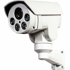 CCTV 720P Mini Outdoor IR D/N IP PTZ Kamera x4 zoom POE 8GB built-in 1.3M HD Cam