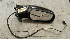 PEUGEOT 307  ELECTRIC DRIVER SIDE WING MIRROR 2001 - 2008 METALIC BLACK