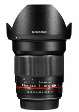 "Samyang 16mm f/2.0 ED AS UMC CS Pentax ""EU STOCK""UPS SHIPPING 48H in EU"""