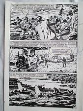 MADAME ATOMOS PROLONGE LA VIE  (TORREGROSA)  PLANCHE ORIGINALE AREDIT PAGE 81