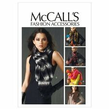 McCall's Patterns M6666 Misses' Neck Wraps Sewing Template