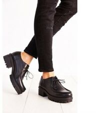 Vagabond Kayla Black Leather Oxford Size 10/40 Women