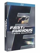 Fast And Furious - 7 Film Collection -7 Blu-Ray - ITALIANO ORIGINALE SIGILLATO -