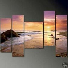 5pc MODERN ABSTRACT HUGE WALL ART OIL PAINTING ON CANVAS (no frame)N.0106