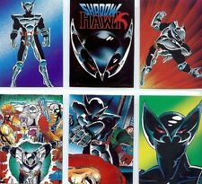 Shadow Hawk Trading Cards Full 90 Card Base Set from Comic Images