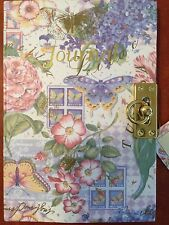 Once Upon A Rose Journal Diary Beautiful Victorian With Lock ��