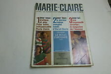 VINTAGE MARIE CLAIRE LADIES FASHION MAGAZINE IN FRENCH FROM APRIL 1963
