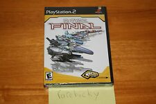 R-Type Final (PS2 Playstation) NEW SEALED BLACK LABEL W/UPC, MINT & RARE!