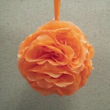 Silk Flower Kissing Balls Wedding Centerpiece, 6-Inch