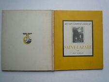 1938 LES VIEUX HOPITAUX FRANCAIS SAINT LAZARE DE JEAN ROBIQUET PAR CIBA