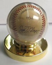 Baseball Autographed game ball Joe DiMaggio and Unknown signature
