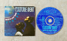 "CD AUDIO / CULTURE BEAT ""WORLD IN YOU HANDS"" 1994 CDS 2T DANCE POOL DAN 660220 1"