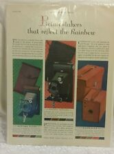 Vintage Kodak Advertisement -Picture-takers that reflect the Rainbow Oct. 1929