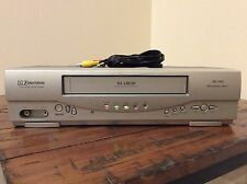 EMERSON EWV404 DA-4 HEAD VCR VHS PLAYER RECORDER W/ CABLES WORKS GREAT