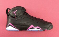 Girls Nike Air Jordan 7 Retro GG SZ 8.5Y Hyper Pink Black GS OG 442960-018