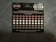 New 60 Mini/Petite Harley Davidson Decal Nail Stickers for Manicure or Pedicure