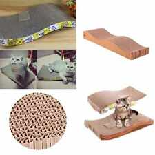 Household Pet Cat Kitten Scratch Seize Catch Board Pad Mat Catnip Bed Tool