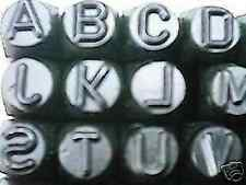 """Metal Stamps Figures & Letter set 16mm /  5/8""""  suit metal and Alloys"""