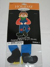 "Holiday Inspirations Craft Halloween 7"" Scarecrow Foamies Kit Foam Kid"