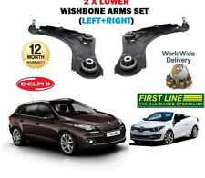 FOR RENAULT MEGANE + CABRIO 2008--  LH+ RH 2x LOWER WISHBONE SUSPENSION ARMS