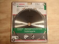 """BOSCH OPTILINE WOOD COMPOUND TABLE SAW BLADE 12"""" 305mm/60T TRADE CONSTRUCTION"""