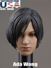 1/6 Resident Evil Ada Wong Head Sculpt PRE-ORDER For Hot Toys Phicen USA SELLER