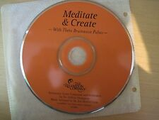 Meditate and Create, With Theta Brainwave Pulses Dr. Jeffrey Thompson CD