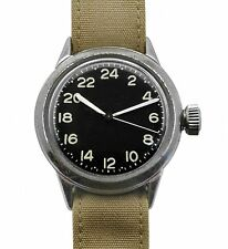 Elgin  24 Hours dial US Army Unusual  Military Watch Hack System