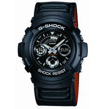 Casio G-Shock ana/digi canvas strap watch AW-591MS-1AER