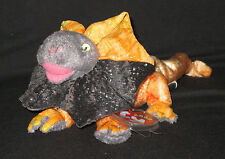TY SLAYER the FRILLED DRAGON BEANIE BABY - MINT with MINT TAGS