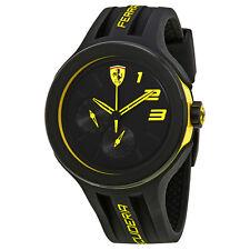 Ferrari FXX Black Dial Mens Silicone Watch 830224