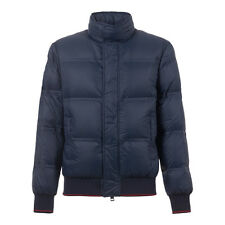 KITON KIRED New F/W 2017 PARDO Bomber Goose Down Jacket XL 44Us 54Eu Dark Blue