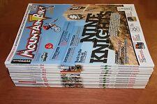 rivista ANNATA COMPLETA MAGAZINE CICLISMO TUTTO MOUNTAIN BIKE MTB 1/12 anno 2011