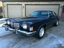 1973 Pontiac Grand Prix BLACK DELUXE
