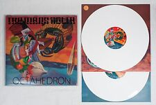 "THE MARS VOLTA ""Octahedron"" Double LP - White Vinyl 1st press with PVC Sleeve"