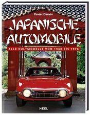 Buch:  Japanische Automobile  -  Alle Kultmodelle von 1960 bis 1976