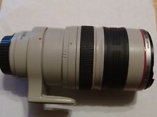 Canon EF 100-400mm F/4.5-5.6 EF USM IS L For Canon - White, BROKEN