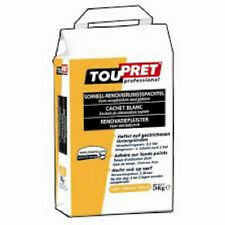 10kg Toupret Decorators Skim Coat Cachet Blanc Interior White Filler