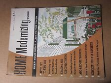 1961 Home Modernizing Guide Magazine No. 17 attic heating air conditioning kitch