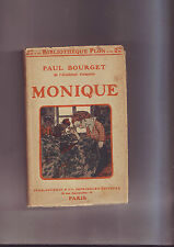 monique - paul Bourget - plon