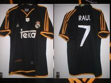 REAL MADRID RAUL ADULT LARGE FOOTBALL SOCCER SHIRT JERSEY VINTAGE TEKA
