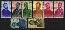 España : 1960 ( Edifil 1298/08 ) I SERIE FORJADORES AMÉRICA Nuevo ( MNH )