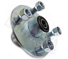 "4 x 4 Galvanized Wheel Hub Front with 5/8"" Bearing Go Kart Parts Cart Lawn Mower"