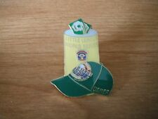Yellow Usher Can and Hat Pin - Little League World Series Pins