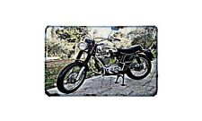 Ducati Scrambler 350 Motorbike A4 photo Retro Bike