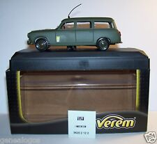 RARE VEREM PEUGEOT 403 LIAISON BREAK MILITAIRE MILITARY REF 9620 IN BOX
